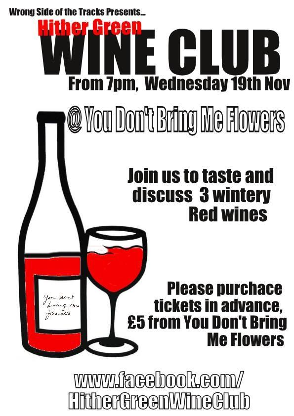 Hither Green Wine  November