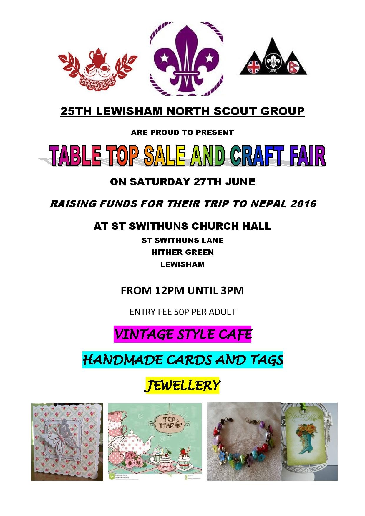 25TH LEWISHAM NORTH SCOUT GROUP JUMBLE FLYER-page-001