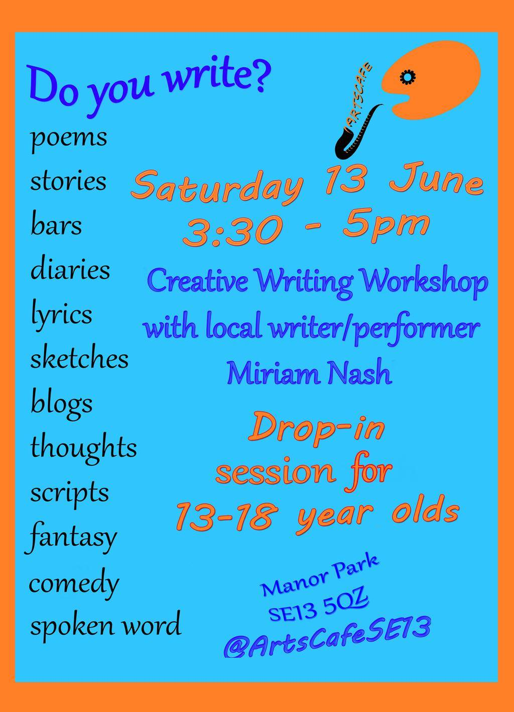 ArtsCafe_Writing