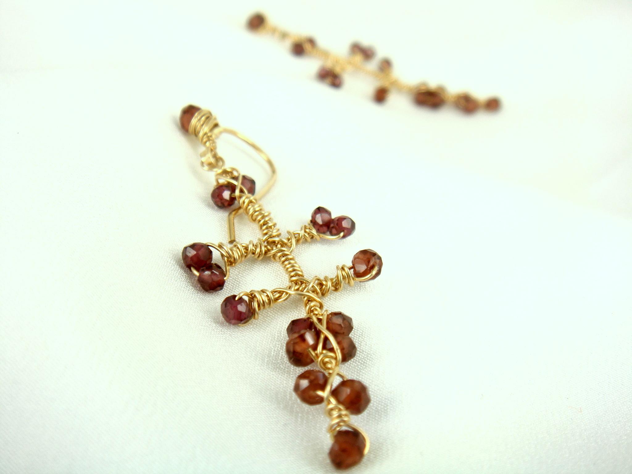 Momo Jewellery earrings for Lee Green Open Studios.