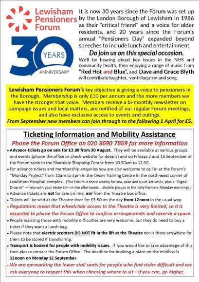 Lewisham Pensioners DAy 2016_2